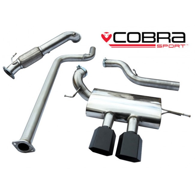 cobra sport focus st250 turbo back exhaust non res. Black Bedroom Furniture Sets. Home Design Ideas